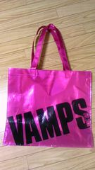◆VAMPS◆2008年ツアーグッズ◆トートバッグ◆HYDE☆ピンク♪送料込み
