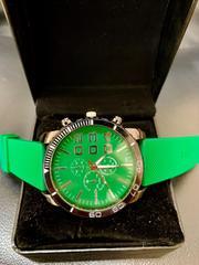 新作WaMaGe正規海外腕時計◆BIGグリーンベルト◆DIESEL系◆