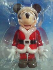 ディズニー ミッキーマウス クリスマス サンタクロース KUBRICK フィギュア 非売品