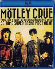 Motley Crue 埼玉 Japan 2.14.2015 モトリークルー(Blu-Ray)