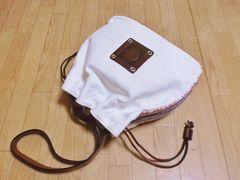 セール】ゲラルディーニ巾着型キャンバス肩掛けショルダーバッグ