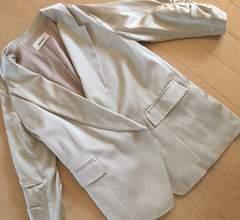 スナイデルsnidelベージュジャケット 七分袖