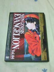 DVD 新世紀エヴァンゲリオン 第4巻 NEON GENESIS EVANGELION