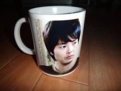 パク・ヨンハ写真入りマグカップ