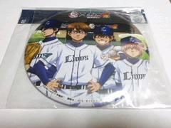 埼玉西武ライオンズ ダイヤのA コラボ 2015 デカカンバッチ