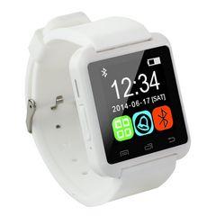 Bluetooth スマートウォッチ iPhone対応 白