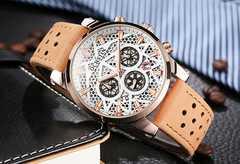 新作新品◆スケルトンBIGフェイス腕時計◆海外高級腕時計◆