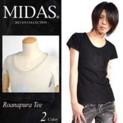 【MIDAS/ミダス】渋谷系.オラオラ♪スカル刺繍Tシャツ