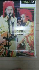 X JAPAN hide ポスター ヒデ PSYENCE A GO GO 1996