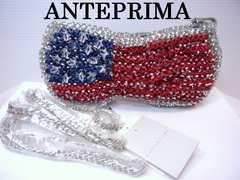 送料無料 ANTEPRIMA アメリカ 国旗 ショルダー ポーチ バッグ 新品★dot