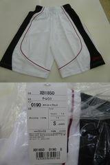 送料込(S 白)アシックス★ゲームパンツ XB1850 ハーフパンツ 吸汗速乾バスケット