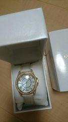 新品☆セシルマクビー☆可愛い腕時計☆今期☆ホワイト