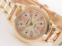 【送料無料】日本製ムーブメントvitarosoレディース腕時計