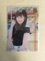 NMB48 吉田朱里 2014 トレカ R008 アイドル カード クリアカード