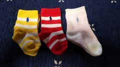 【POLO】ベビー靴下