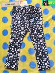 新品【BIT'Zビッツ】100cmドット柄スキニーパンツ男女OK¥1995