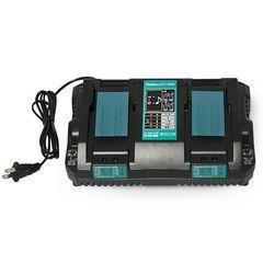 マキタ 対応  7.2v-18v 4A DC18RD 互換品2口急速充電器