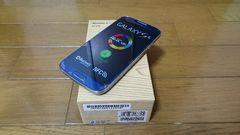即落/即発!!新品未使用 SC-04E Galaxy S4 ブルー