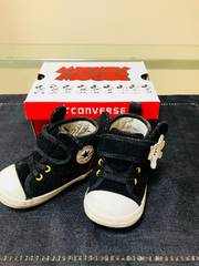 ◆ 中古 ◆箱付き! ベビー コンバース ミッキー 靴 シューズ