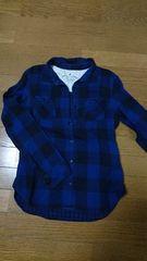 ブロックチェックシャツ earth