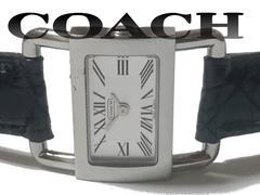 良品 1スタ★COACH コーチ【スイス製】生産終了 激レア 腕時計