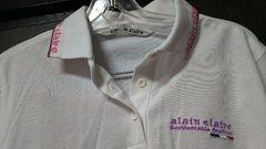白 ポロシャツ alain claire