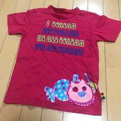 新品◆バックアレイ ブーフーウー◆刺繍アップリケ半袖Tシャツ1