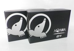 新品即決 HONMA ダイナミックディスタンス D1 ホワイト 2ダース