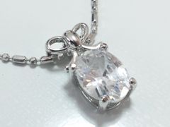 10249/ダイヤモンドの様な大粒なネックレス凄く素敵です〜格安出品