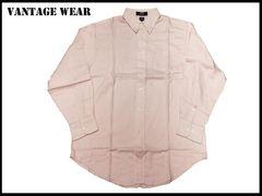 新 【ピンク色-L】 Vantage 長袖シャツ アメリカ輸入品
