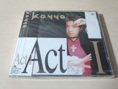 KaNNa CD「アクト1 Act1」カンナ 新品未開封 廃盤●