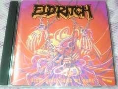 ELDRITCH エルドリッチ:1st アルバム♪ ジャパメタ ヘヴィメタル BLINDMAN