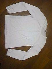 長袖Tシャツ/Tシャツ/白/160/まとめ買い歓迎