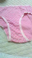 ピンクのコットンショーツMサイズ 送料無料