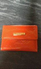 サマンサタバサ 赤 カードケース