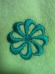 NIKE ナイキ タオル地 ポロシャツ ボーダー グリーン ホワイト Sサイズ お洒落