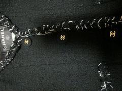 人気品シャネルジャケット美品定番品ロゴボタン人気ツィード限定