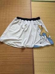 ディズニー・不思議の国のアリス柄スウェット素材スカート