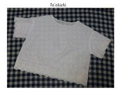 テチチ*Te'chichi*SM2〓スカラップレース*ワイドブラウス〓新品〓