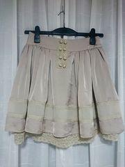 未使用品★BABYLONEバビロン購入★スカート
