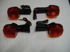 (955O)NCB400NCB250CB400Dホーク�V高品質ウインカーオレンジレンズ