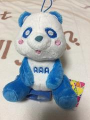AAA 與真司郎 え〜パンダ肩のりぬいぐるみ