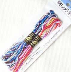 -g-.[刺しゅう糸(1mx16本)8色 針付き]-i-.