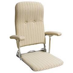 折りたたみ座椅子 ベージュ YS-1046_BE