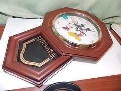 送料込 美品 人気 MICKEYS カチカチと音のしない時計