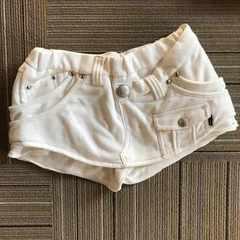 BACKS.白パンツインスカート