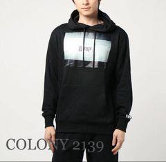 定価4,855円 EXITEプリントパーカー Black【新品】COLONY2139