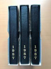 【特年】昭和62年 1987 プルーフ貨幣セット 3セット