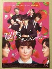 映画「脳内ポイズンベリー」チラシ10枚�@ 真木よう子 西島秀俊