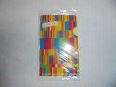 グリコアーモンドピーククリアファイルカードケースA8サイズ新品